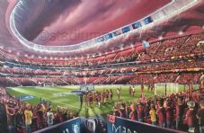 Liverpool Champions League Winners  Madrid 2019  - unframed A3 Print